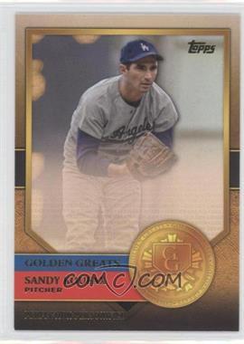 2012 Topps Golden Greats #GG-49 - Sandy Koufax