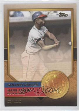 2012 Topps Golden Greats #GG-53 - Hank Aaron