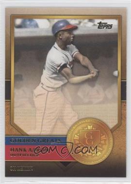 2012 Topps Golden Greats #GG-53 - Hank Aaron