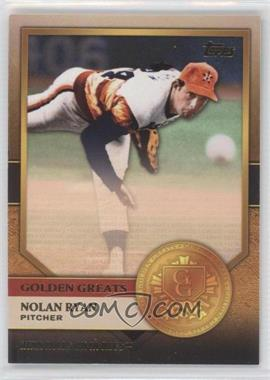 2012 Topps Golden Greats #GG-6 - Nolan Ryan
