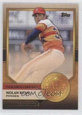 2012 Topps Golden Greats #GG-7 - Nolan Ryan