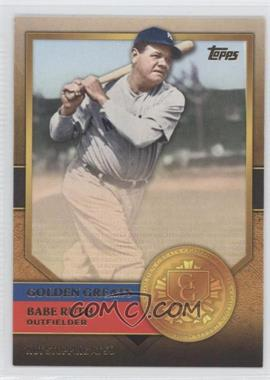 2012 Topps Golden Greats #GG-72 - Babe Ruth