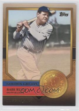2012 Topps Golden Greats #GG-72 - Babe Ruth