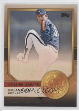 2012 Topps Golden Greats #GG-8 - Nolan Ryan