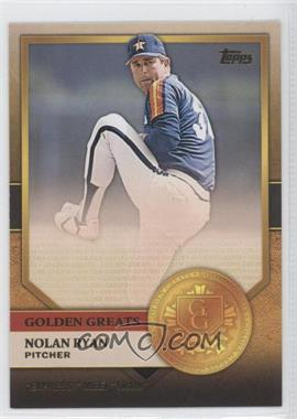 2012 Topps Golden Greats #GG-8 - Nolan Ryan