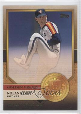 2012 Topps Golden Greats #GG-9 - Nolan Ryan