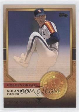 2012 Topps Golden Greats #GG-9 - Nolan Ryan