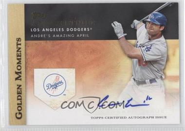 2012 Topps Golden Moments Certified Autographs [Autographed] #GMA-AE - Andre Ethier