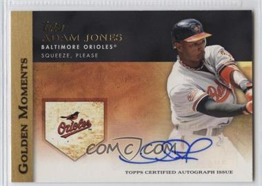 2012 Topps Golden Moments Certified Autographs [Autographed] #GMA-AJ - Adam Jones