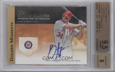 2012 Topps Golden Moments Certified Autographs [Autographed] #GMA-BH - Bryce Harper [BGS 9.5]