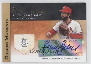2012 Topps Golden Moments Certified Autographs [Autographed] #GMA-BS - Bruce Sutter