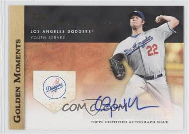 2012 Topps Golden Moments Certified Autographs [Autographed] #GMA-CK - Clayton Kershaw