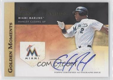 2012 Topps Golden Moments Certified Autographs [Autographed] #GMA-HR - Hanley Ramirez