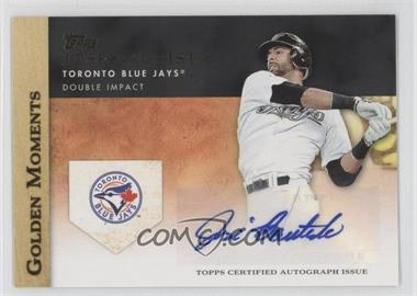 2012 Topps Golden Moments Certified Autographs [Autographed] #GMA-JB - Jose Bautista
