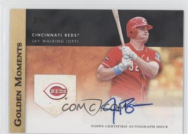 2012 Topps Golden Moments Certified Autographs [Autographed] #GMA-JBR - Jay Bruce