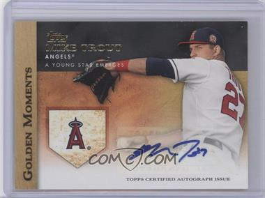 2012 Topps Golden Moments Certified Autographs [Autographed] #GMA-MT - Mike Trout
