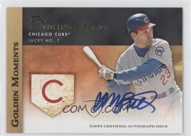2012 Topps Golden Moments Certified Autographs [Autographed] #GMA-RS - Ryne Sandberg