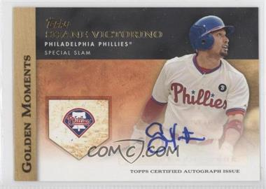 2012 Topps Golden Moments Certified Autographs [Autographed] #GMA-SV - Shane Victorino