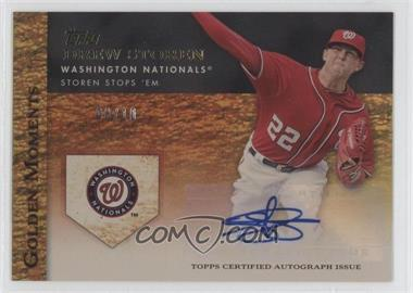 2012 Topps Golden Moments Certified Autographs Gold [Autographed] #GMR-DST - Drew Storen /10