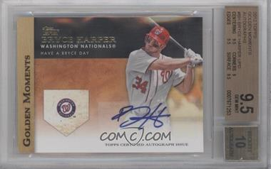 2012 Topps Golden Moments Certified Autographs #GMA-BH - Bryce Harper [BGS9.5]