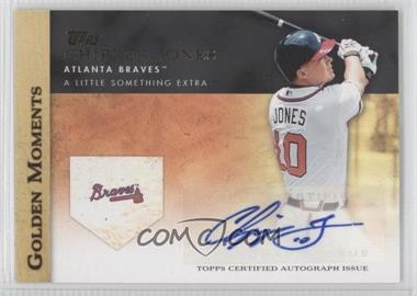 2012 Topps Golden Moments Certified Autographs #GMA-CJ - Chipper Jones