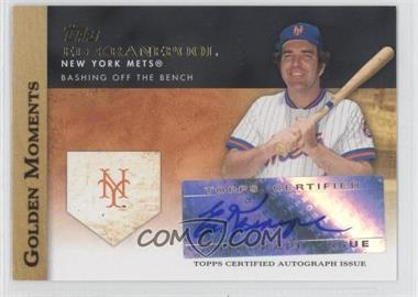 2012 Topps Golden Moments Certified Autographs #GMA-EK - Ed Kranepool