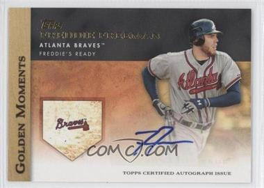 2012 Topps Golden Moments Certified Autographs #GMA-FF - Freddie Freeman