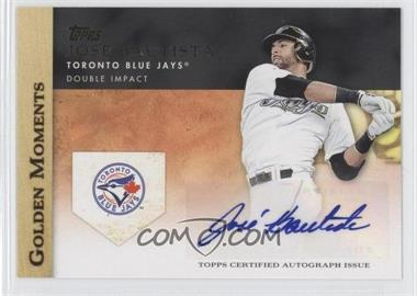 2012 Topps Golden Moments Certified Autographs #GMA-JB - Jose Bautista