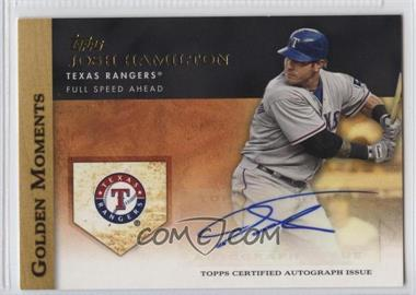 2012 Topps Golden Moments Certified Autographs #GMA-JHA - Josh Hamilton