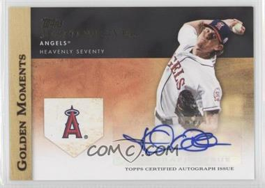 2012 Topps Golden Moments Certified Autographs #GMA-JW - Jered Weaver