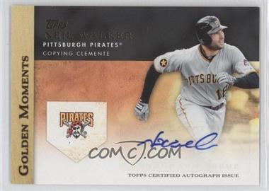 2012 Topps Golden Moments Certified Autographs #GMA-NW - Neil Walker