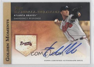 2012 Topps Golden Moments Certified Autographs #GMA-RD - Randall Delgado