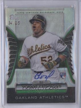 2012 Topps Golden Moments Die-Cut Certified Autograph [Autographed] #N/A - Yoenis Cespedes /25