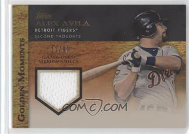 2012 Topps Golden Moments Game-Used Memorabilia Gold #GMR-AA - Alex Avila /99