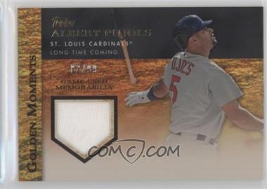 2012 Topps Golden Moments Game-Used Memorabilia Gold #GMR-AP - Albert Pujols /99