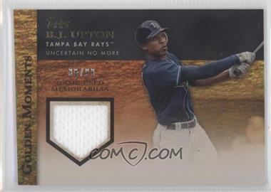 2012 Topps Golden Moments Game-Used Memorabilia Gold #GMR-BU - B.J. Upton /99