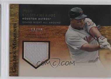 2012 Topps Golden Moments Game-Used Memorabilia Gold #GMR-CL - Carlos Lee /99