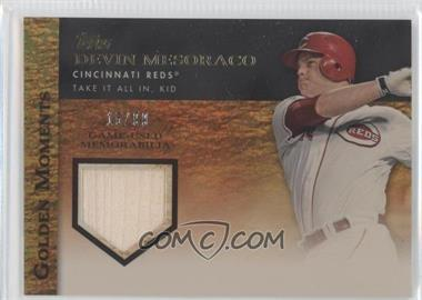 2012 Topps Golden Moments Game-Used Memorabilia Gold #GMR-DME - Devin Mesoraco /99