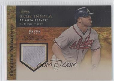 2012 Topps Golden Moments Game-Used Memorabilia Gold #GMR-DU - Dan Uggla /99