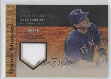 2012 Topps Golden Moments Game-Used Memorabilia Gold #GMR-IK - Ian Kinsler /99