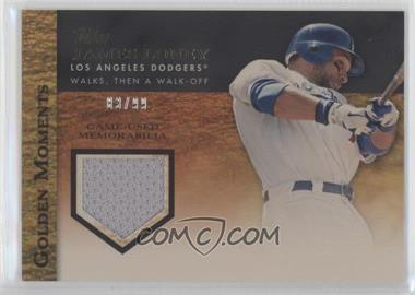 2012 Topps Golden Moments Game-Used Memorabilia Gold #GMR-JL - James Loney /99