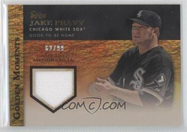 2012 Topps Golden Moments Game-Used Memorabilia Gold #GMR-JPE - Jake Peavy /99