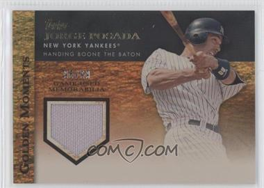 2012 Topps Golden Moments Game-Used Memorabilia Gold #GMR-JPO - Jorge Posada /99