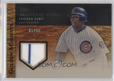 2012 Topps Golden Moments Game-Used Memorabilia Gold #GMR-MB - Marlon Byrd /99