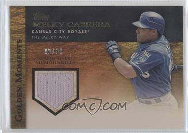 2012 Topps Golden Moments Game-Used Memorabilia Gold #GMR-MCA - Melky Cabrera /99