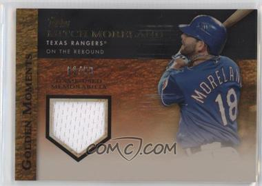 2012 Topps Golden Moments Game-Used Memorabilia Gold #GMR-MM - Mitch Moreland /99