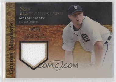 2012 Topps Golden Moments Game-Used Memorabilia Gold #GMR-MS - Max Scherzer /99