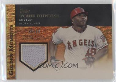 2012 Topps Golden Moments Game-Used Memorabilia Gold #GMR-TH - Torii Hunter /99