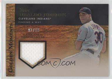 2012 Topps Golden Moments Game-Used Memorabilia Gold #GMR-UJI - Ubaldo Jimenez /99