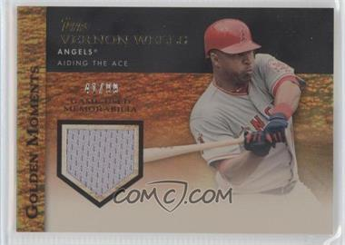 2012 Topps Golden Moments Game-Used Memorabilia Gold #GMR-VW - Vernon Wells /99